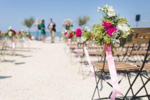 Bruiloft aankleding