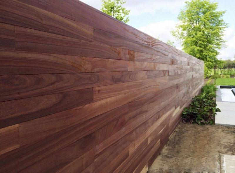 houten tuinschermen